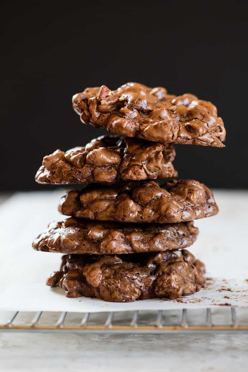 Maida Heatter's Chocolate Whopper Cookies Recipe