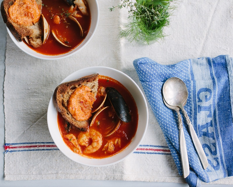 julia child's bouillabaisse recipe provencal fish soup