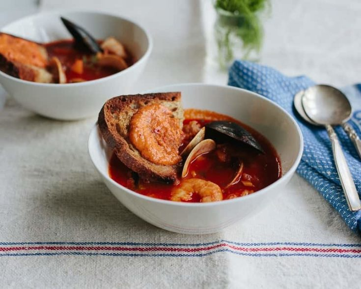 Julia Child's Classic French Bouillabaisse