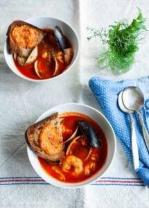 Julia Child's Bouillabaisse Recipe