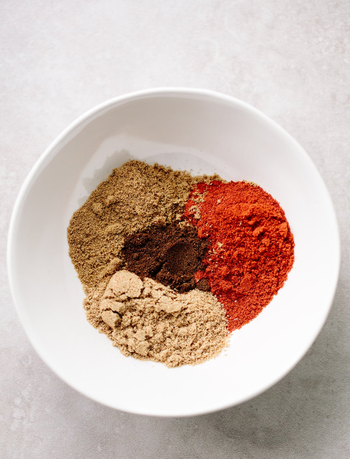 Homemade spice blend for Sweet Potato and Black Bean Chili