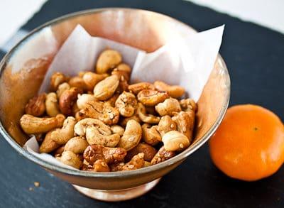 Sicilian-Spiced Roasted Cashews