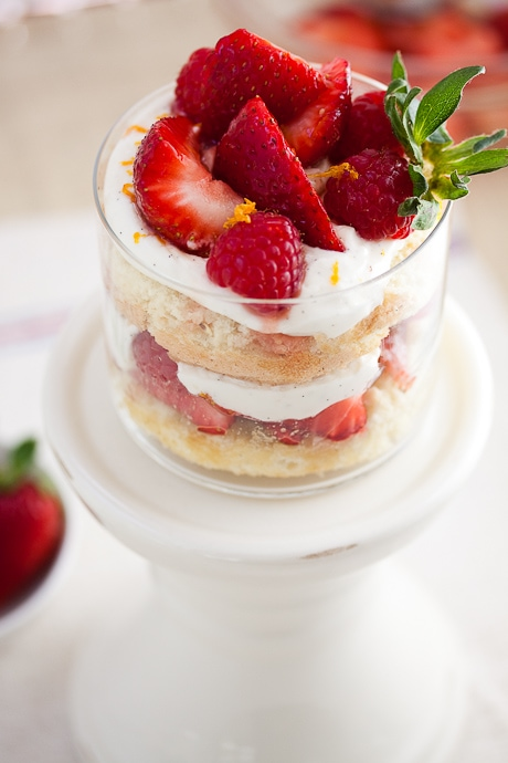 Classic Strawberry and Cream Trifle