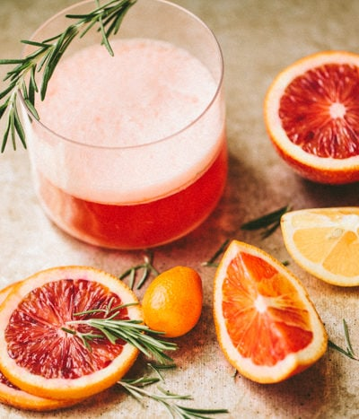 rosemary no. 3 – blood orange negroni