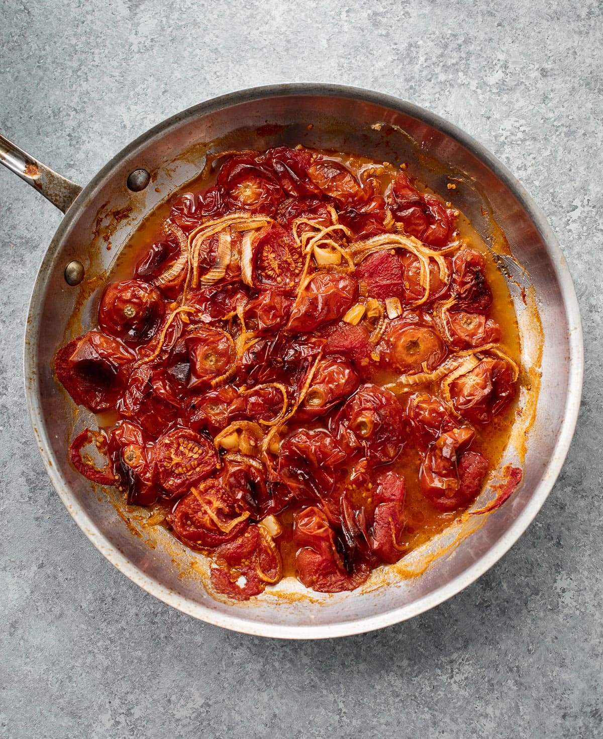 Roasted tomatoes for creamy, dairy-free tomato soup