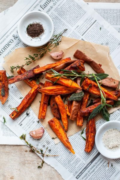 Tuscan Sweet Potato Fries