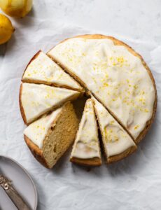 Lemon Ricotta Cake with Creamy Mascarpone Icing