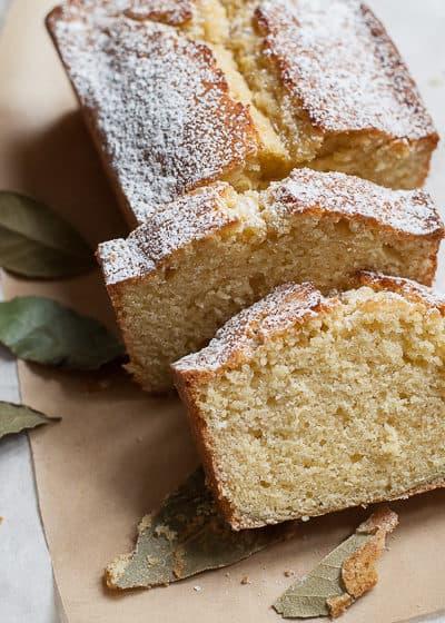 bay laurel pound cake