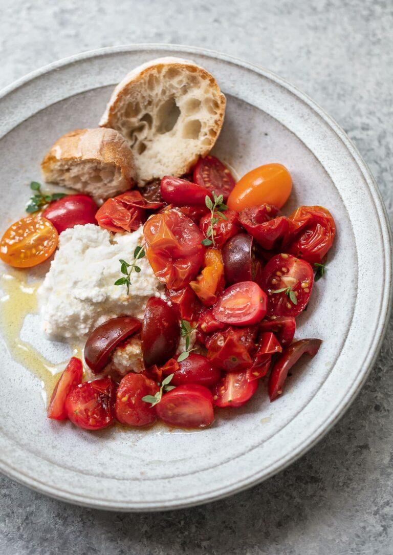 Summer Cherry Tomato Salad