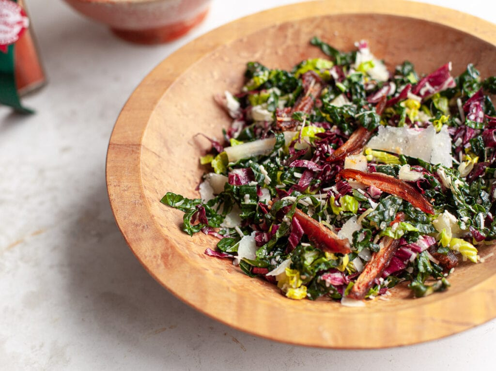 Chopped Kale Salad with Smoky Dates