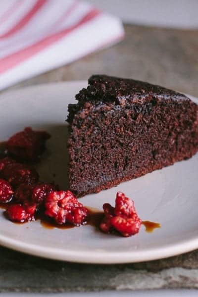 chocolate amaro cake