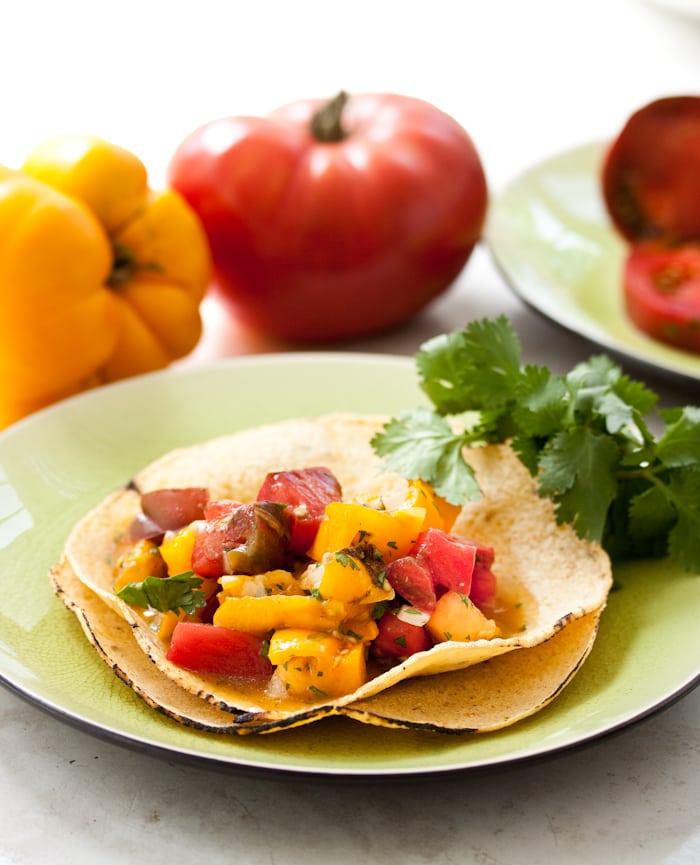 Easy Fresh Mexican Salsa Recipe