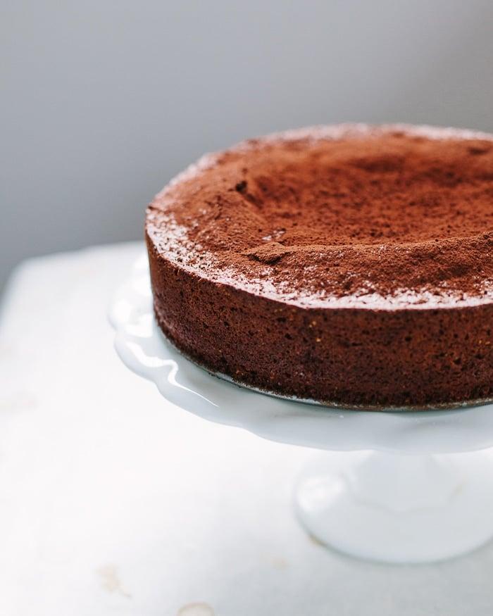 Chocolate Caprese Cake