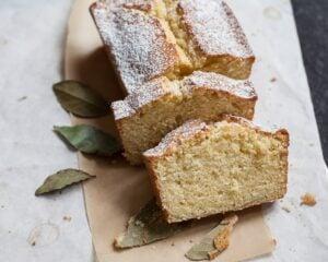 bay laurel pound cake recipe