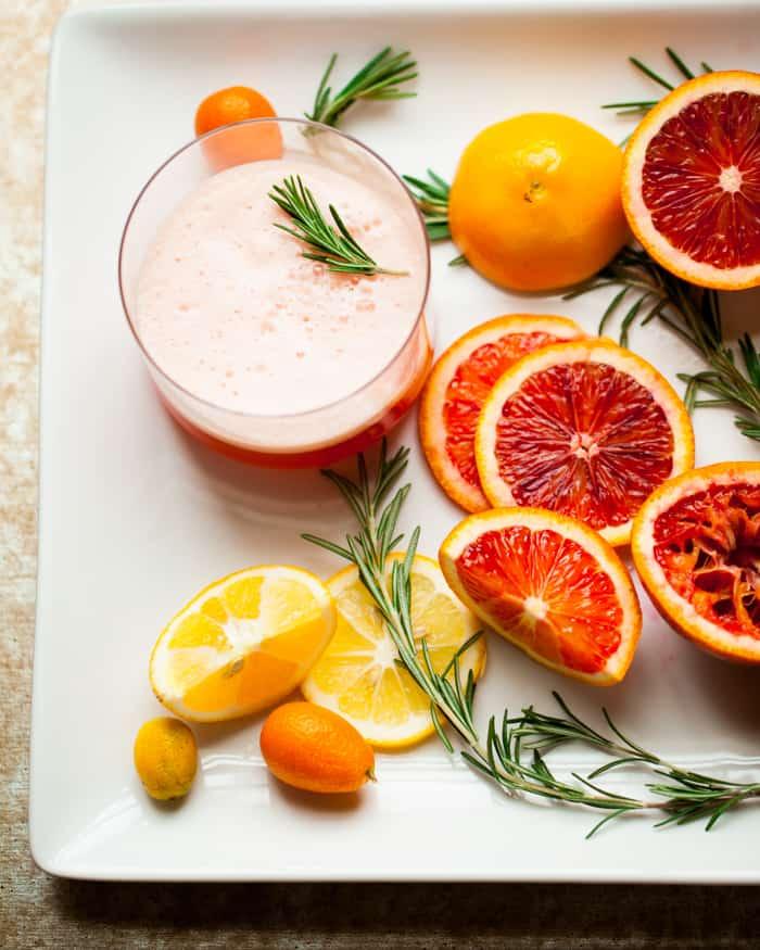 Blood Orange Negroni Cocktail – Rosemary No. 3