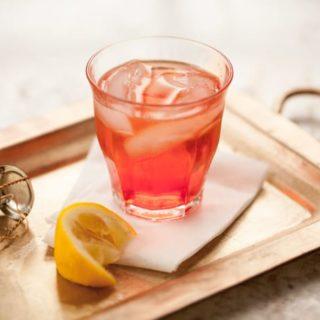 Italian spritz cocktail - a classic aperitvo with Campari and prosecco