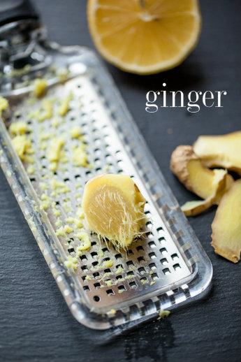 Ginger Lemon Pound Cake