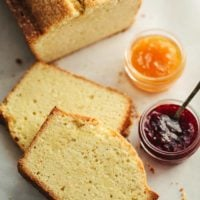 Fresh Ginger-Lemon Pound Cake