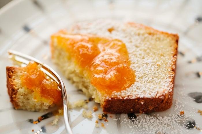 fresh ginger lemon cake