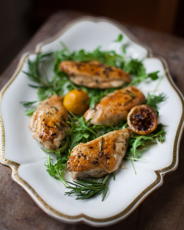 Tuscan Roasted Lemon Chicken - the easy way to cook juicy chicken breasts every time