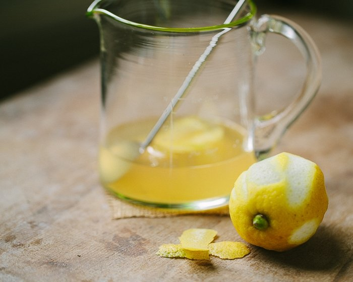 Fresh Italian Lemon Sgroppino Cocktail