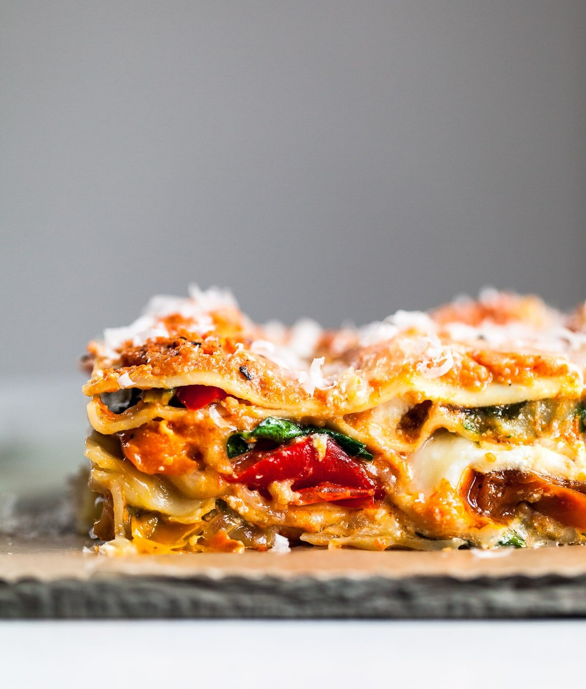 Roasted Vegetable Lasagna Familystyle Food