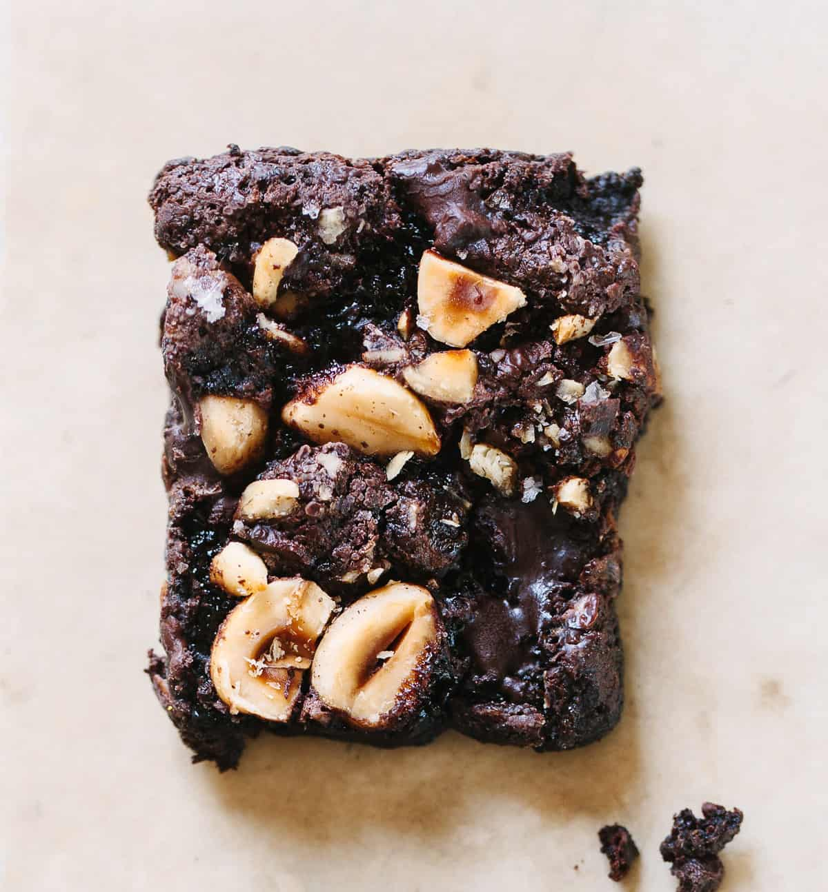Gooey Chocolate Hazelnut Brownies (Gluten-free, Dairy-free)