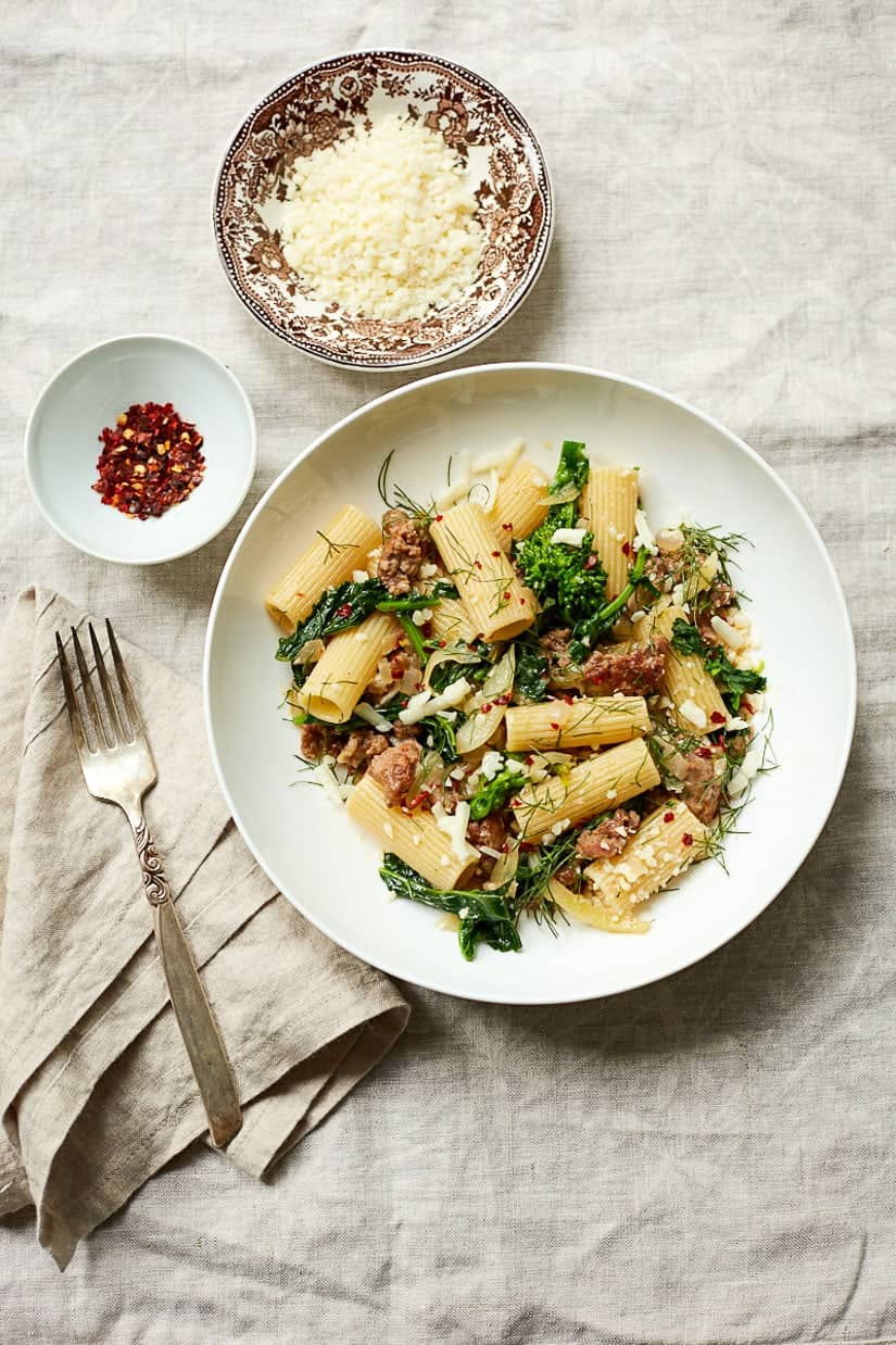 Broccoli Rabe Pasta with Italian Sausage