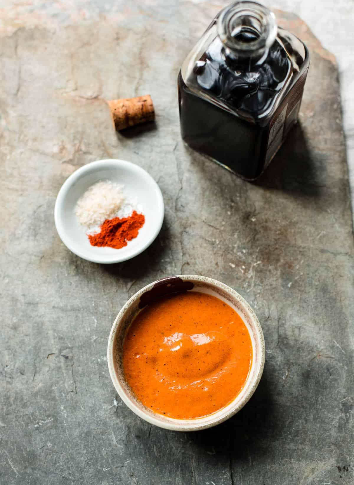Roasted Red Pepper Romesco Sauce