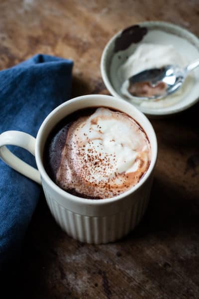Dessert in a cup - Creamy Rich Hot Chocolate