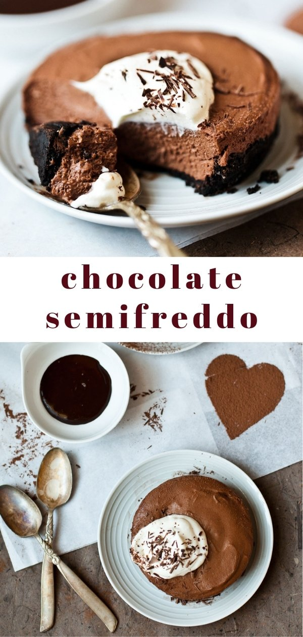 Chocolate Semifreddo for Two