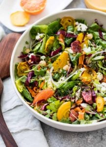 Citrus Salad with Roasted Carrots and Goat Cheese