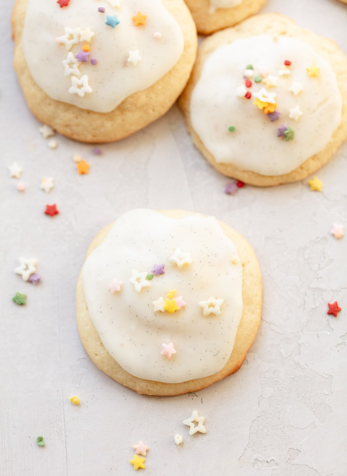 Soft Vanilla Sugar Cookies