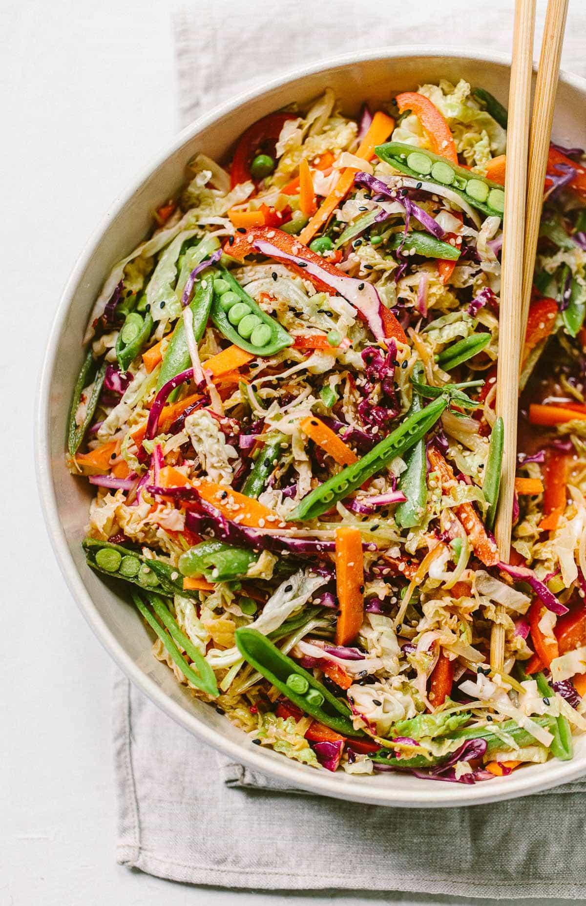 Asian Vegetable Slaw