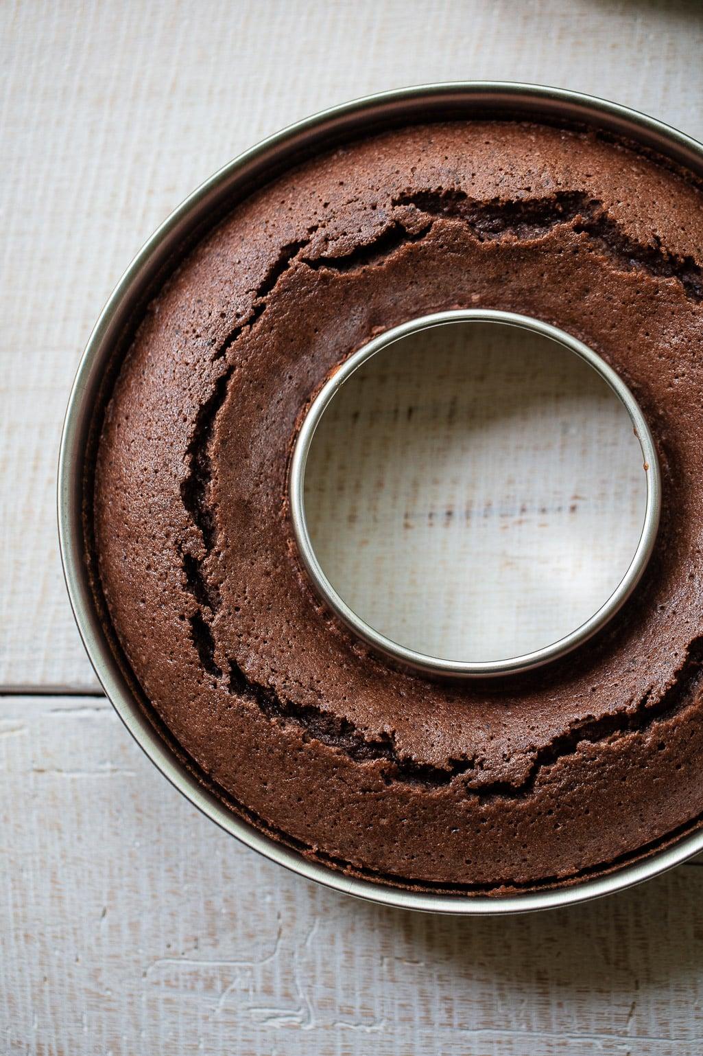 Moist Italian Chocolate Ring Cake
