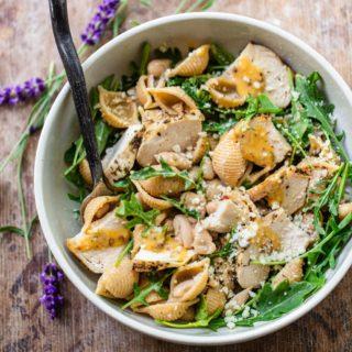 Dijon Chicken Pasta Salad