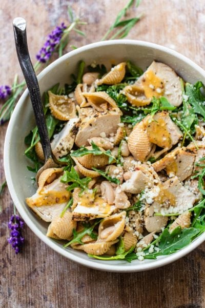 Dijon Chicken Pasta Salad