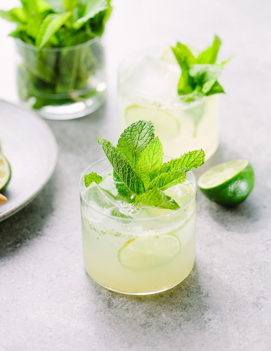 Tequila Lime Mojitarita Cocktail