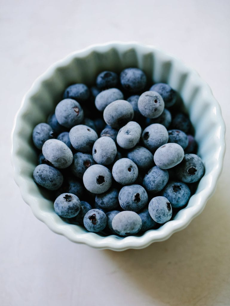 How to Make Homemade Blueberry Sorbet