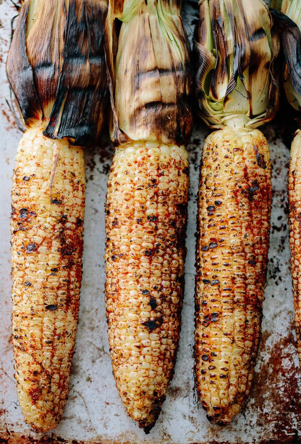 Grilled Elotes Corn Nachos