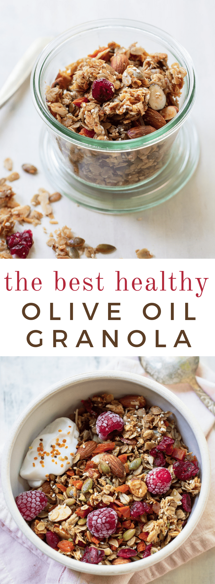 The Best Olive Oil Granola Recipe