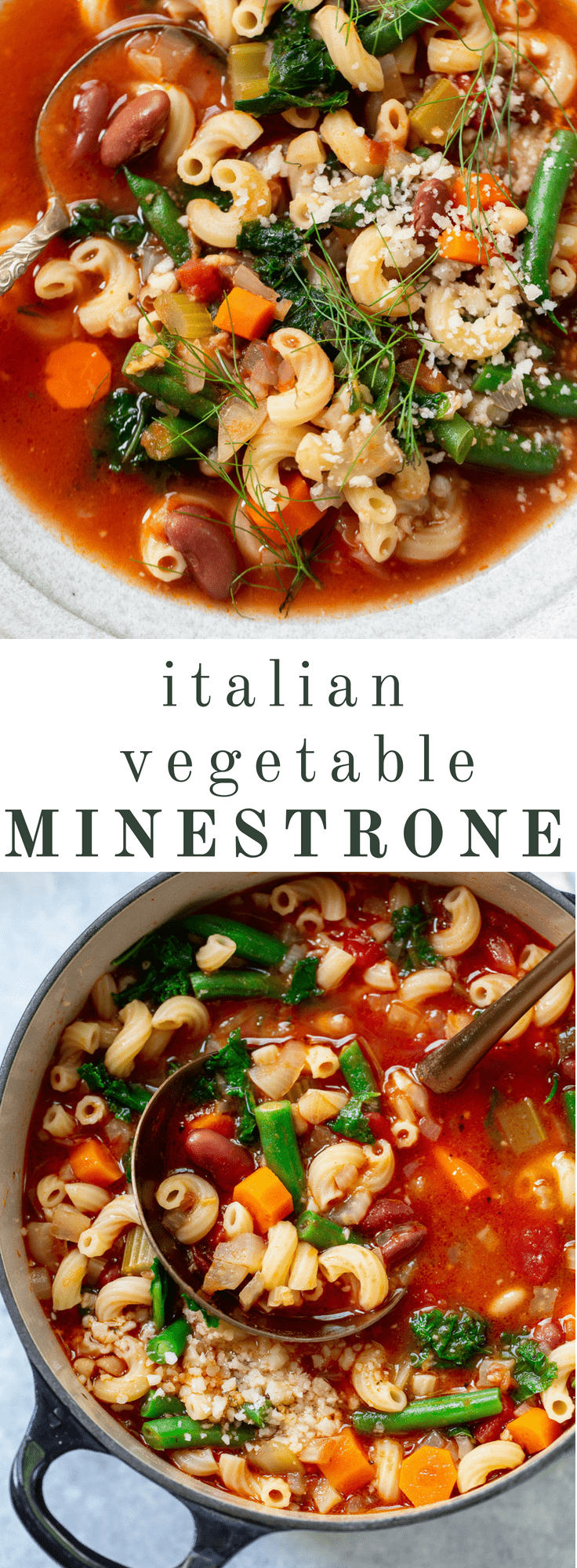 Easy Italian Vegetable Minestrone Soup