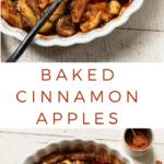 Cinnamon Spice Baked Apples #glutenfree #easy #dessert #lowcarb