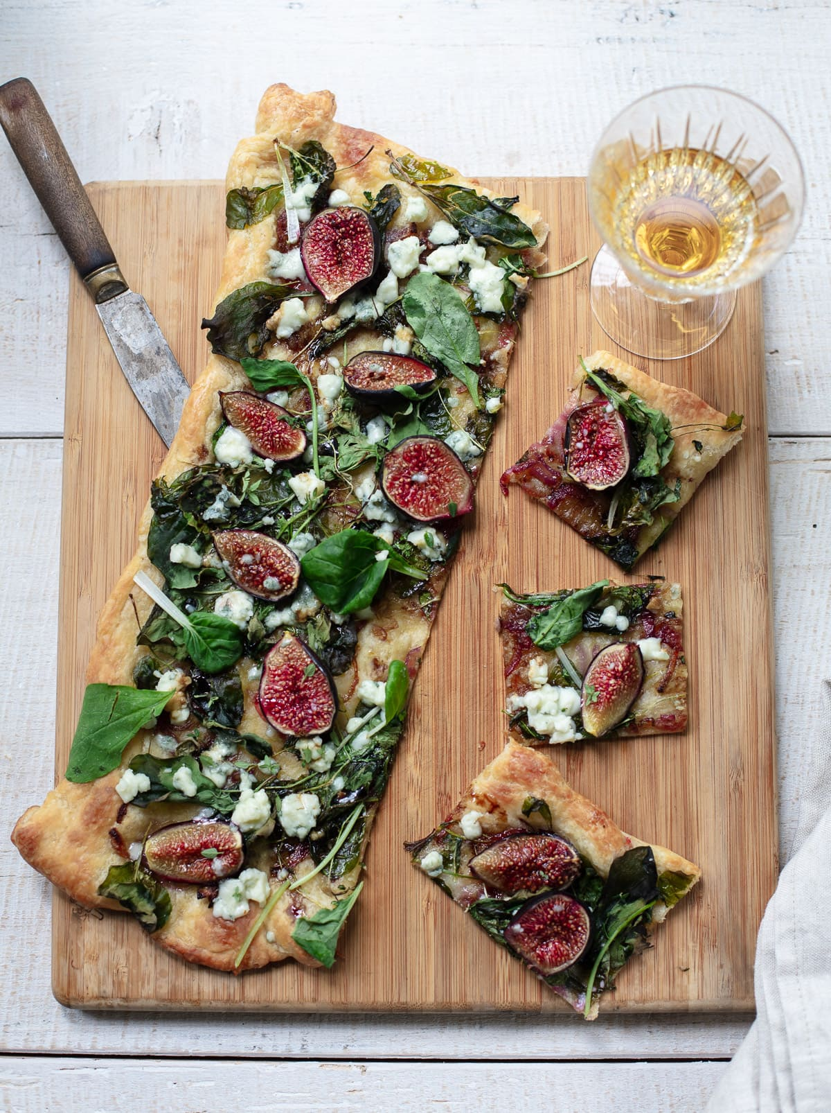 Fig Puff Pastry Flatbread
