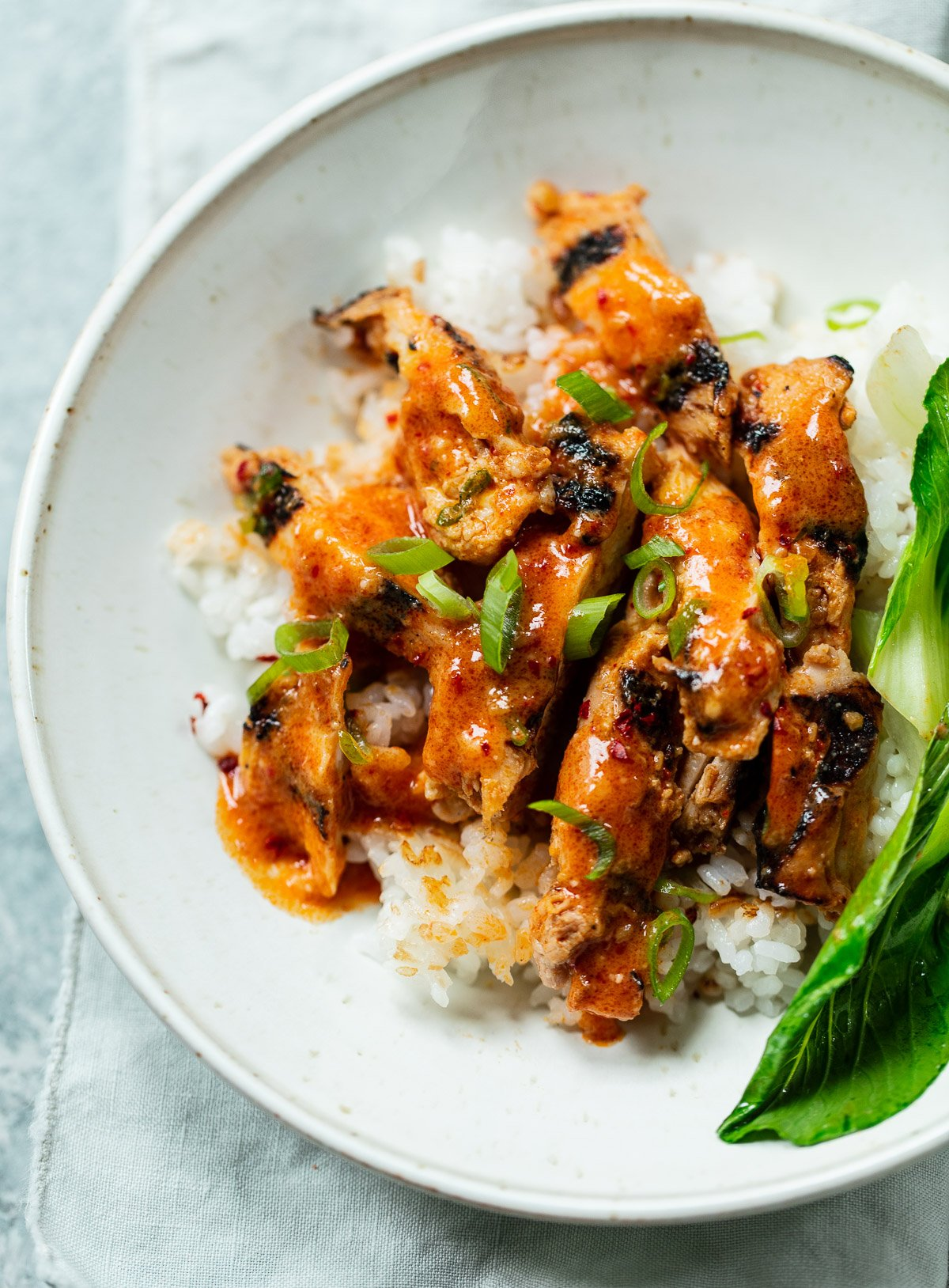 Sweet and Spicy Korean Gochujang Chicken