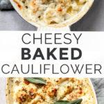 Cauliflower Gratin with Parmesan and Mascarpone