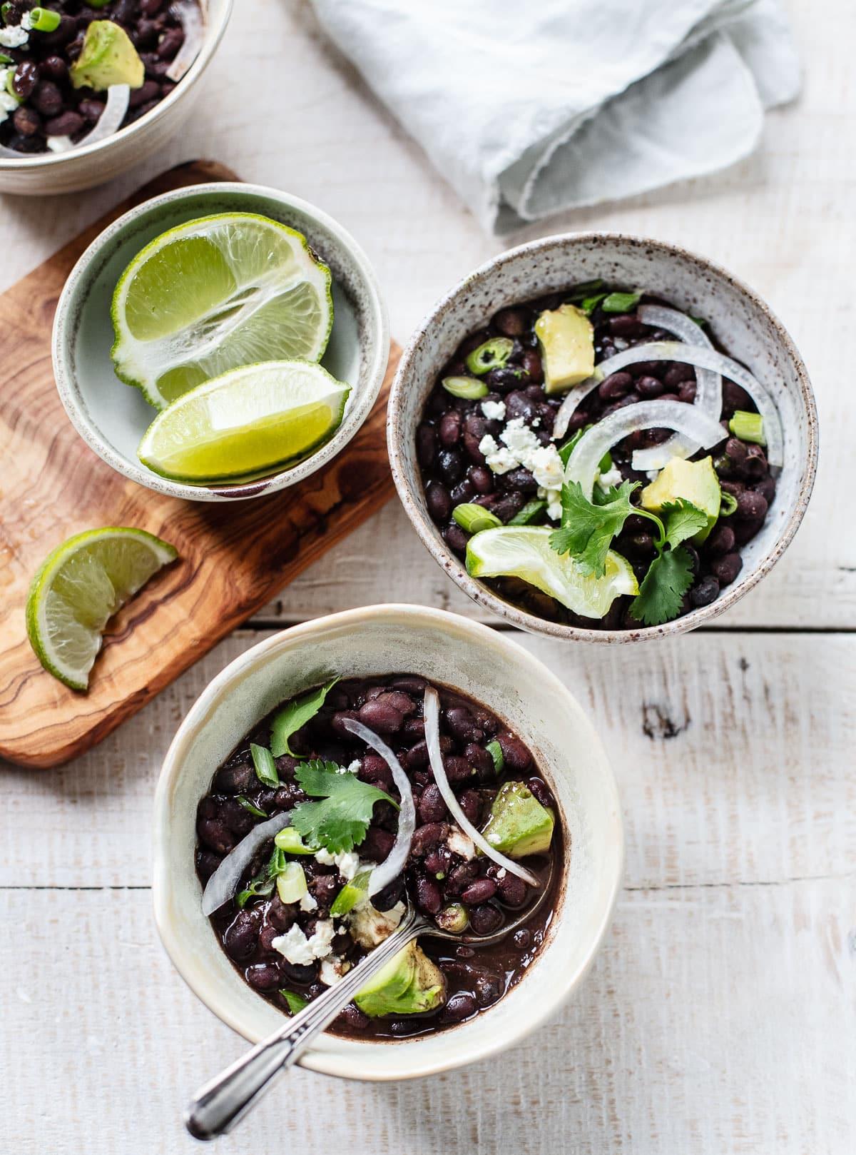 Instant Pot Cuban Mojo Black Beans
