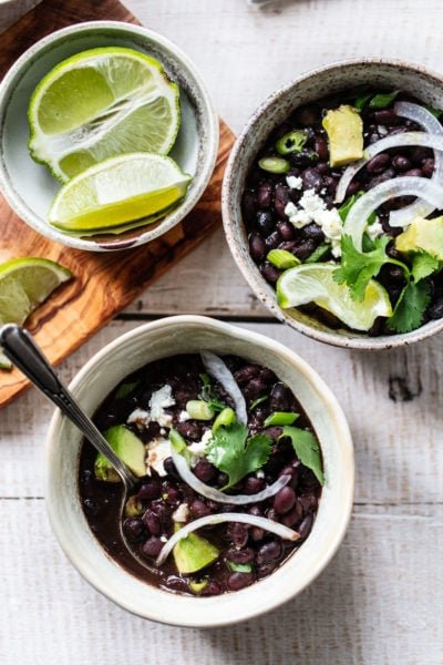 Instant Pot Cuban Mojo Black Beans