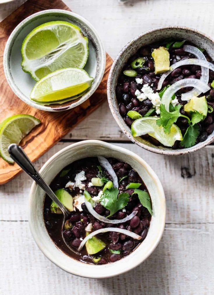 Instant Pot Mojo Cuban Black Beans