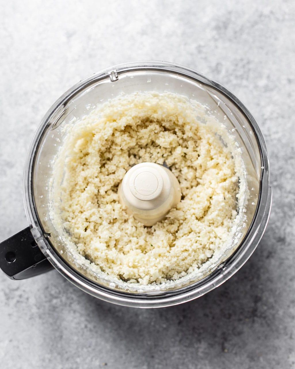 How to make food processor cauliflower rice